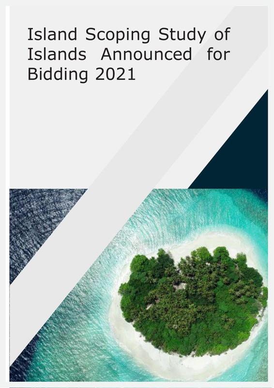 Island Scoping Study of 11 Islands Announced for Bidding in 2021