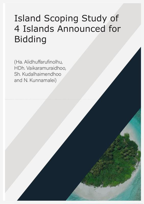 Island Scoping Study of 4 Islands Announced for Bidding (Ha. Alidhuffarufinolhu, HDh. Vaikaramuraidhoo, Sh. Kudalhaimendhoo and N. Kunnamalei)